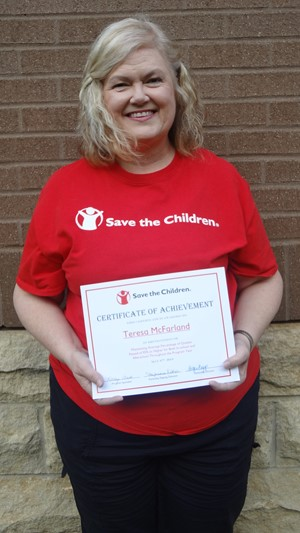 Save the Children Recognition