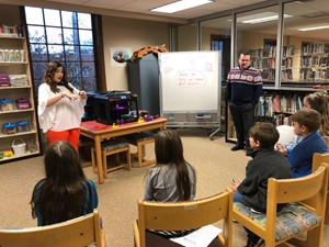 Students learn from guest speakers at Union College STEAM event.
