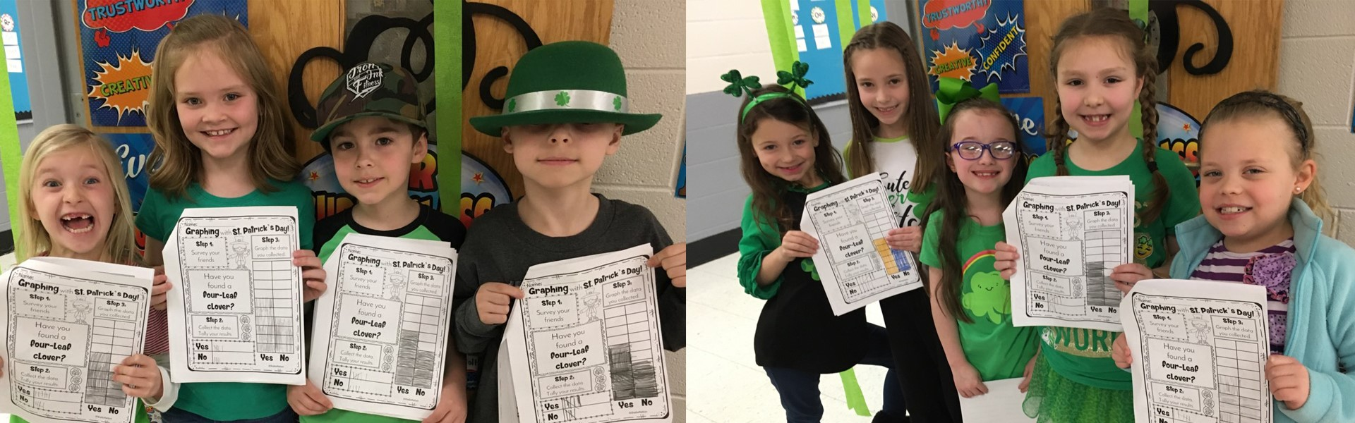 WCCP Lisa Sweet's St. Patrick's Day activity