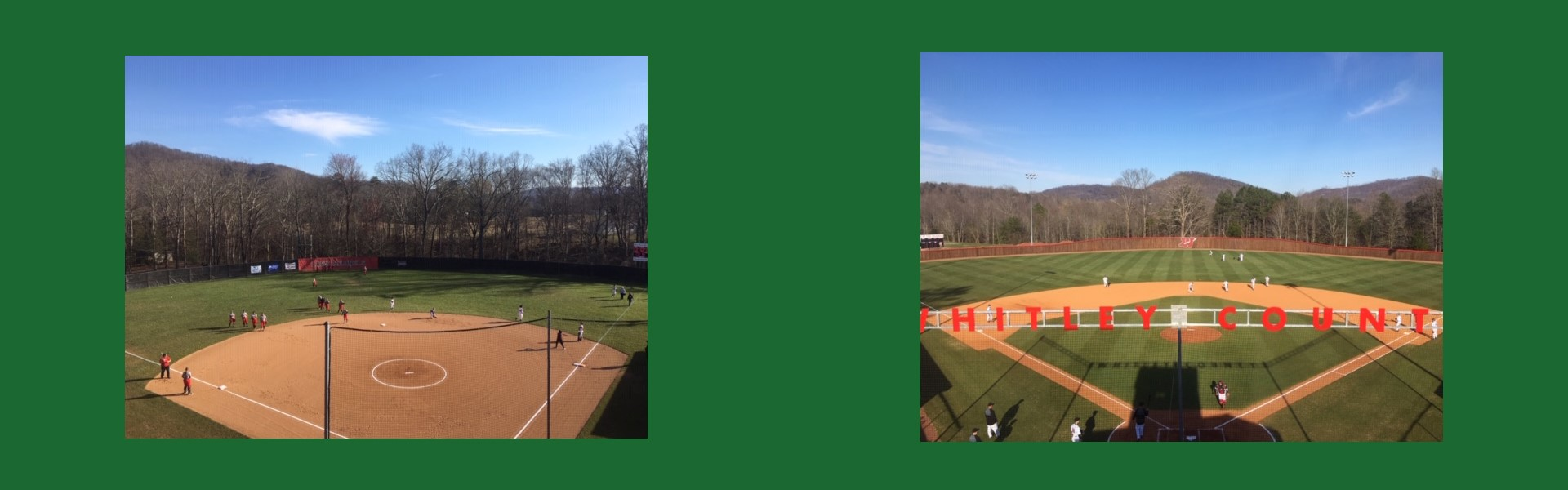 WCHS Softball and Baseball Opening Day