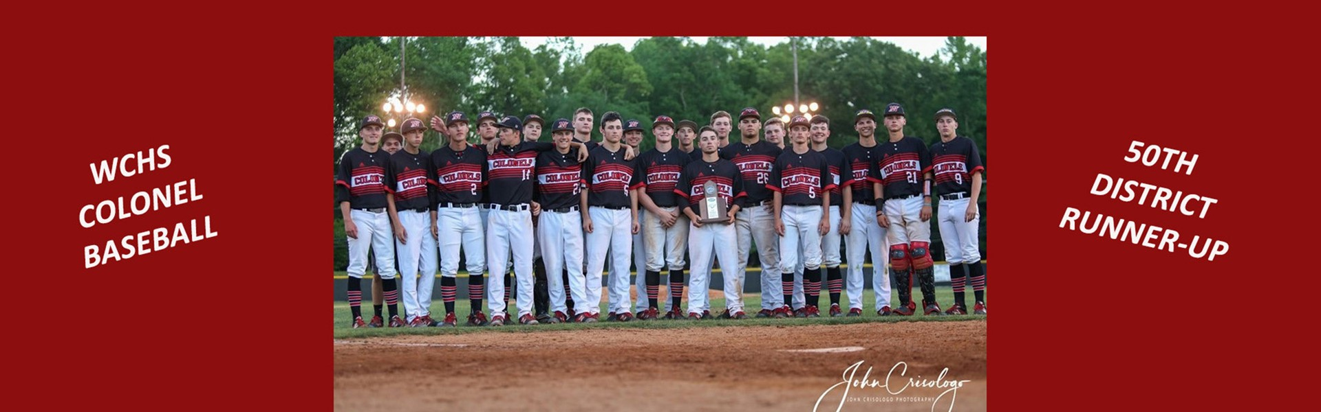 WCHS Colonel Baseball group