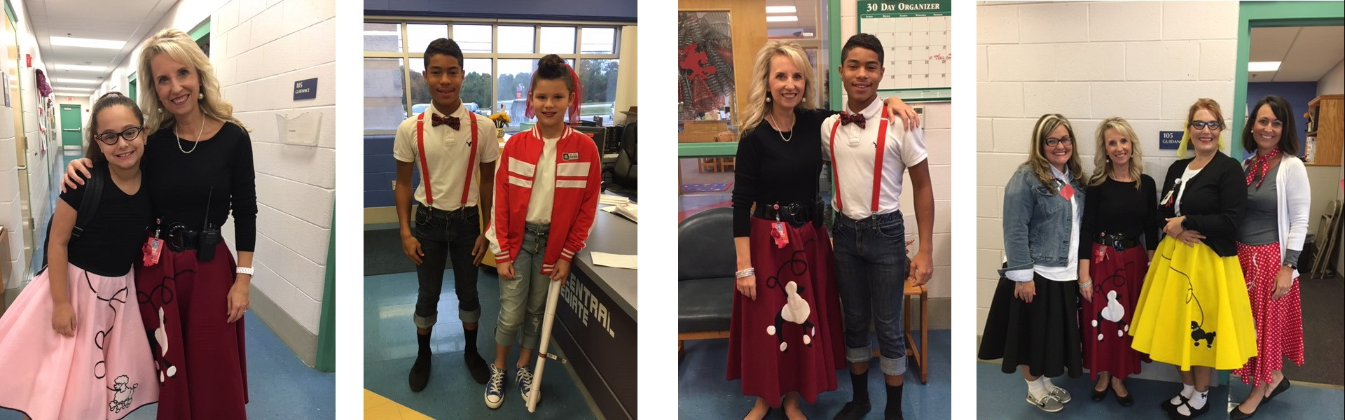 WCIS Celebrating Red Ribbon Week 50's Style!