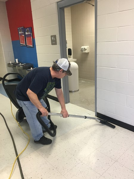 Cleaning the Hallways