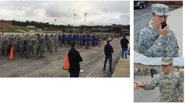 WCHS JROTC Holds Competition