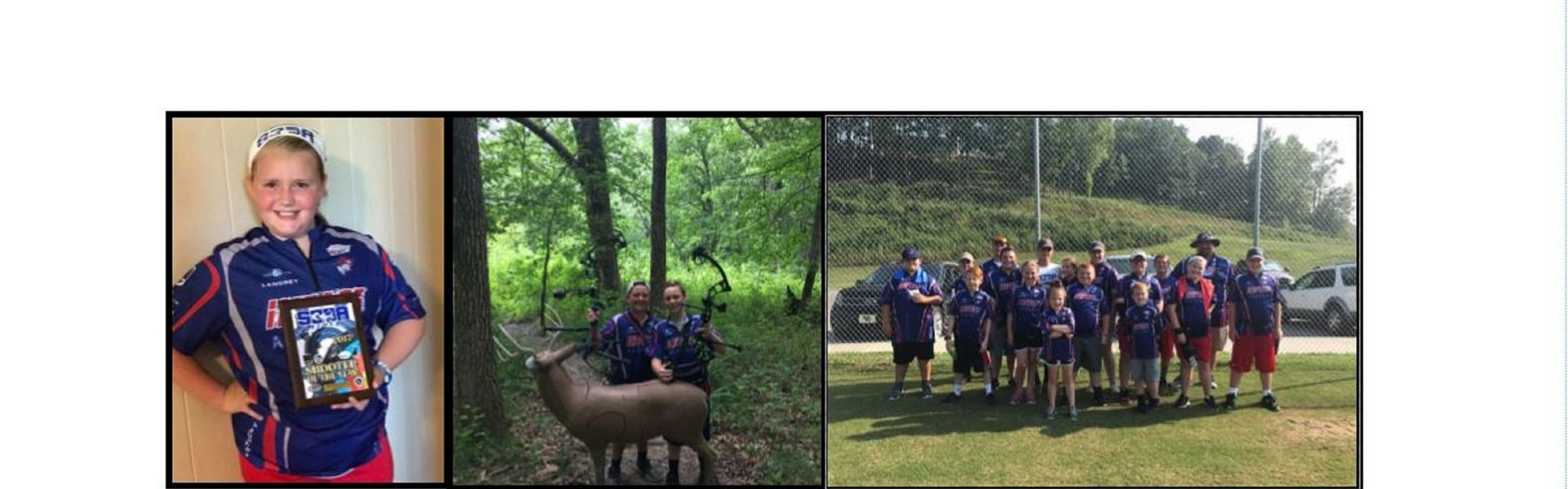 Whitley County students participate in archery tournament.