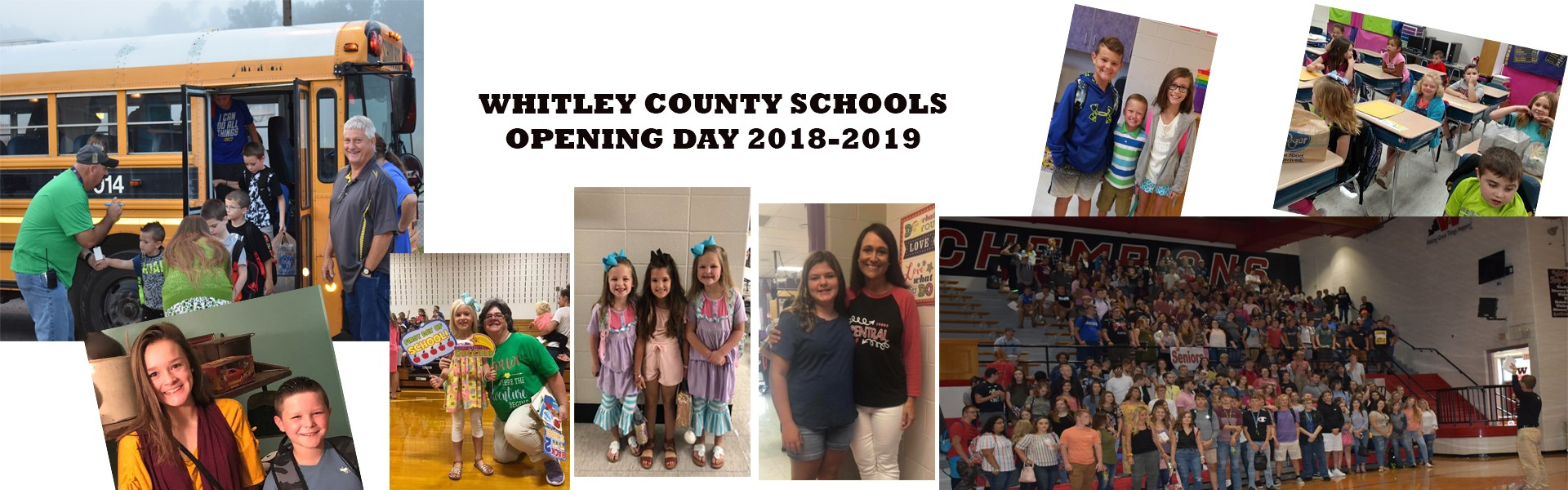 Whitley County School District Opening Day!
