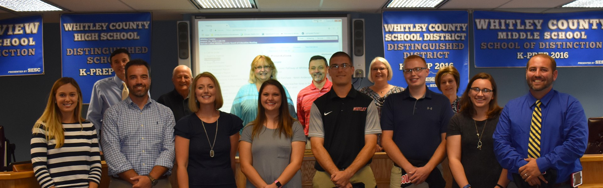 Whitley County School District welcomes new employees!