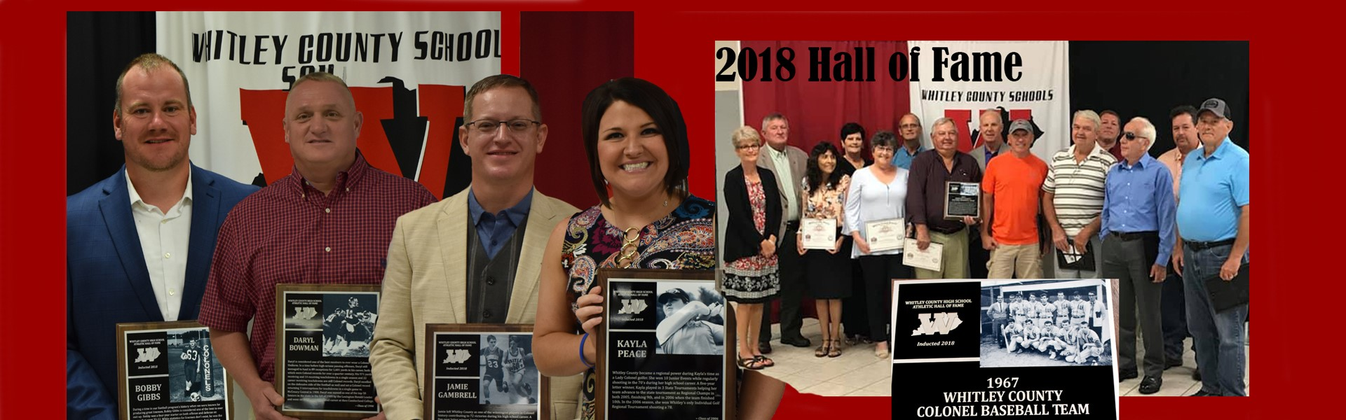 WCHS Class of 2018 Hall of Fame