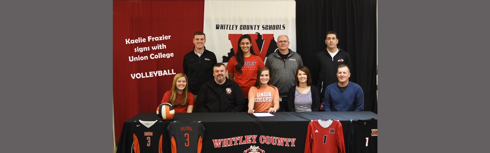 Kaelie Frazier signs with Union College
