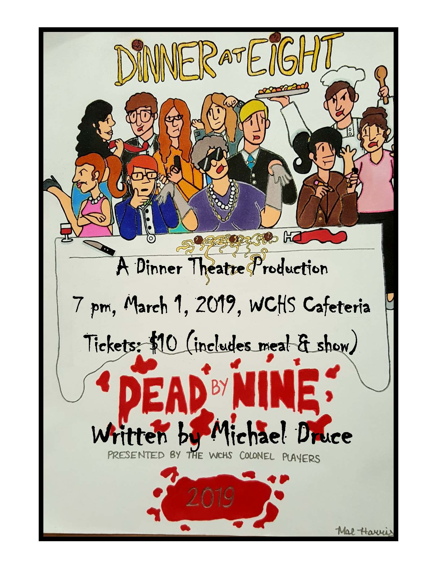 WCHS Dinner Theatre Production